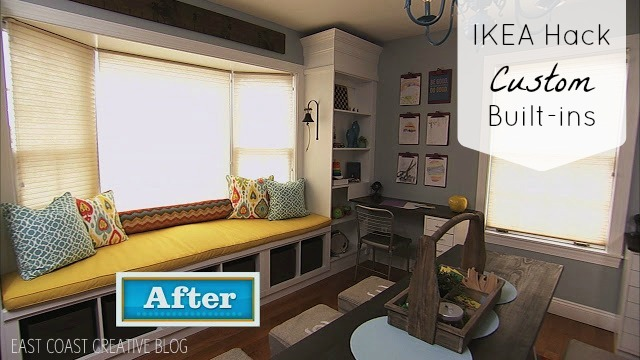 Ikea Hack Custom Built In Shelves Knock It Off Diy Project