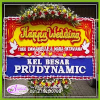 toko bunga papan wedding