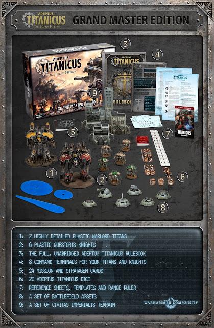 Wargame News and Terrain: Games Workshop: New Adeptus Titanicus