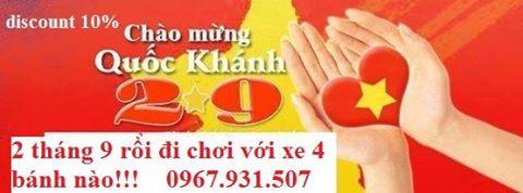 cho thuê xe giá rẻ - du lịch Minh Anh