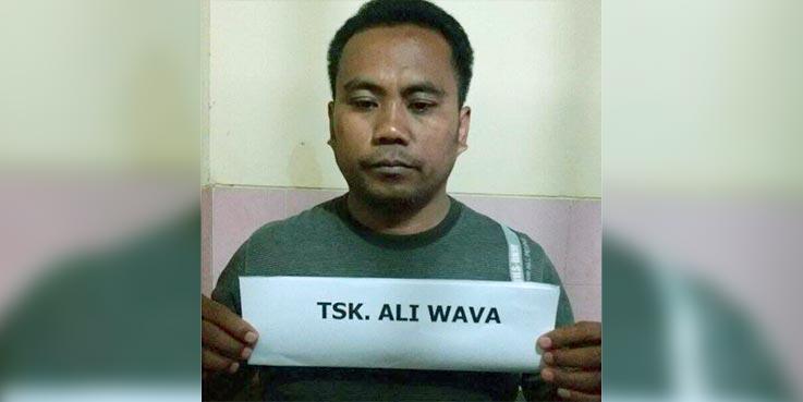 Ali Wava tersangka kasus Narkoba.