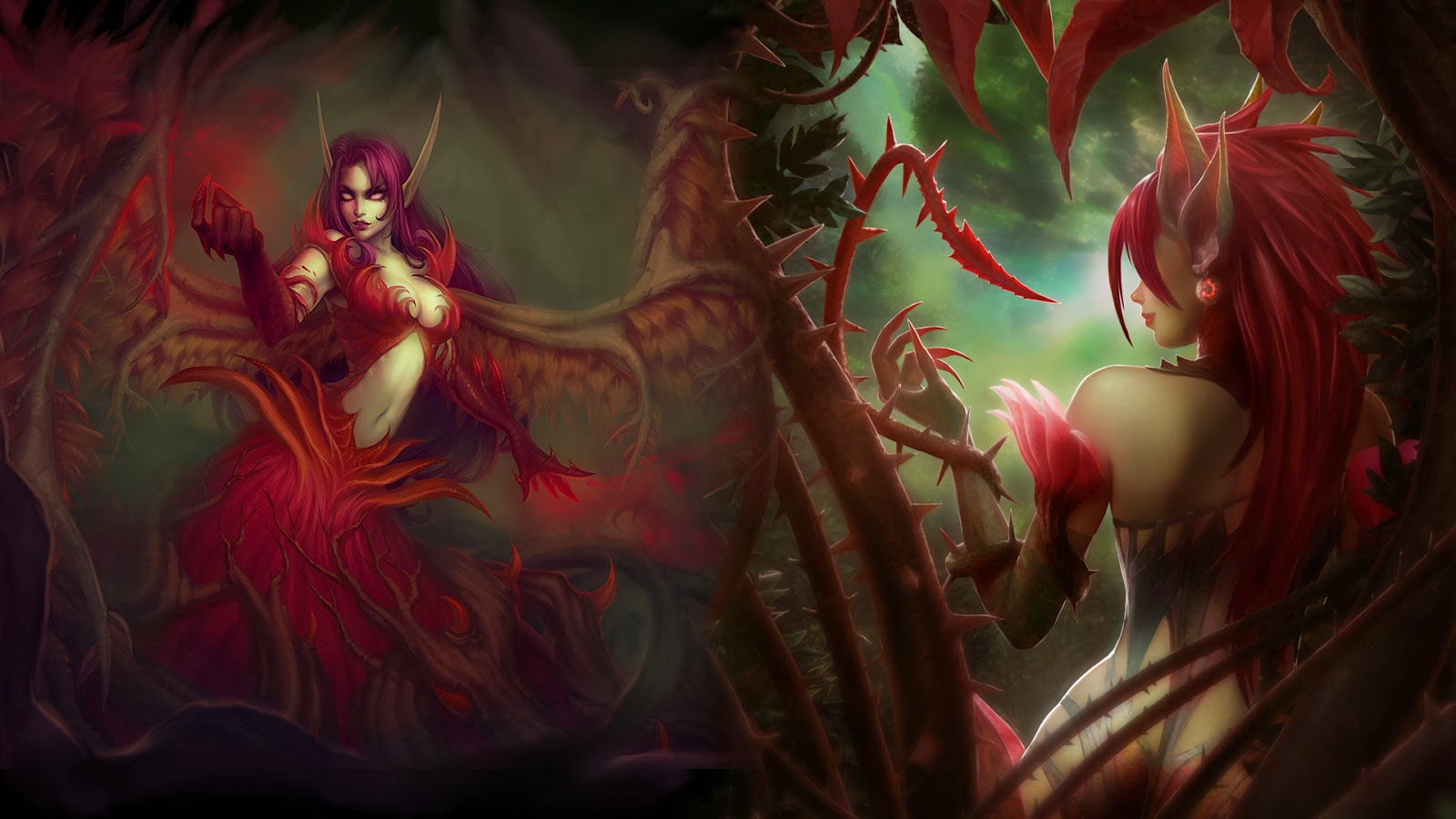 Morgana League of Legends Wallpaper, Morgana Desktop Wallpaper