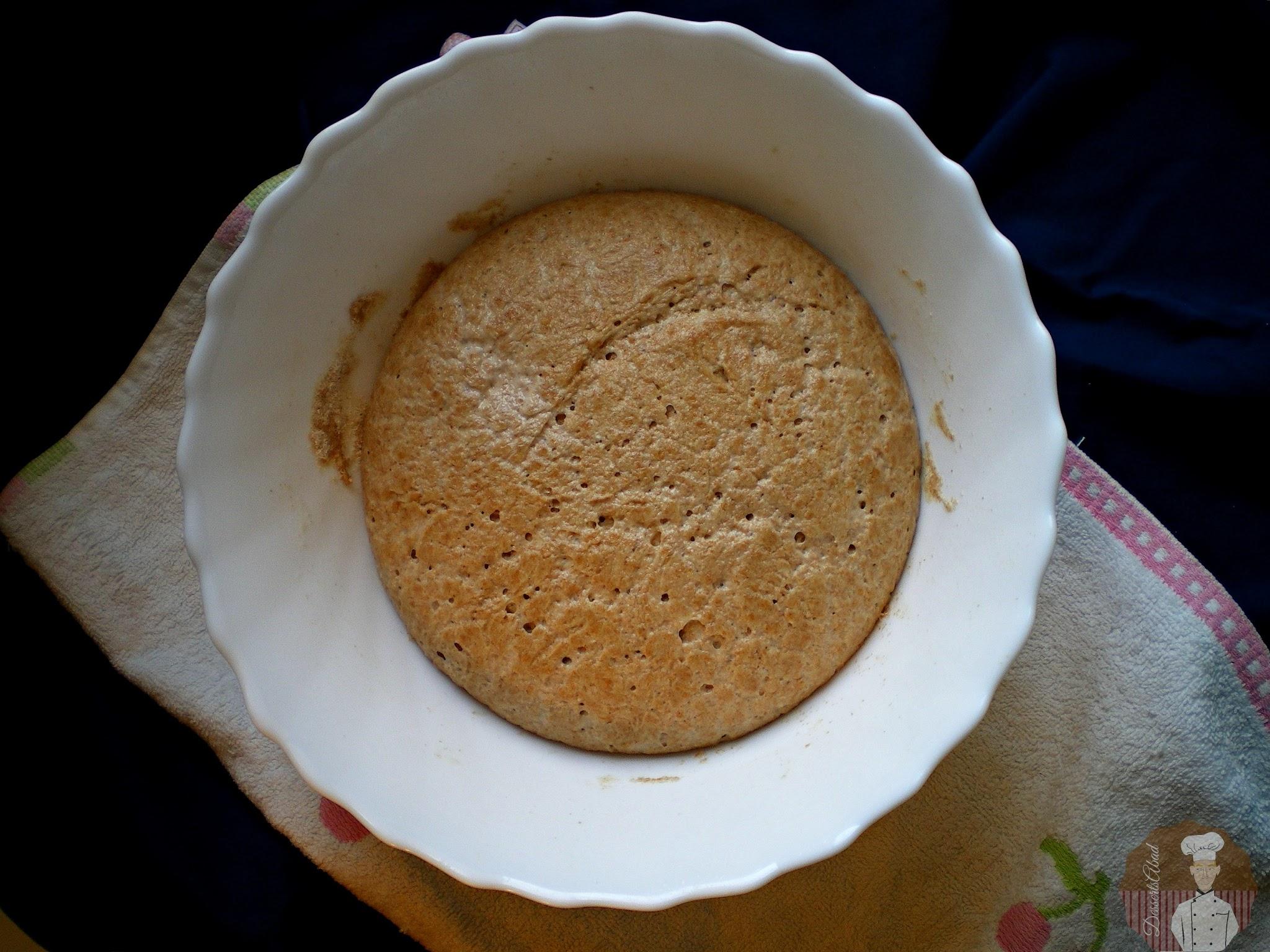 Börek con harina de espelta : Masa levada