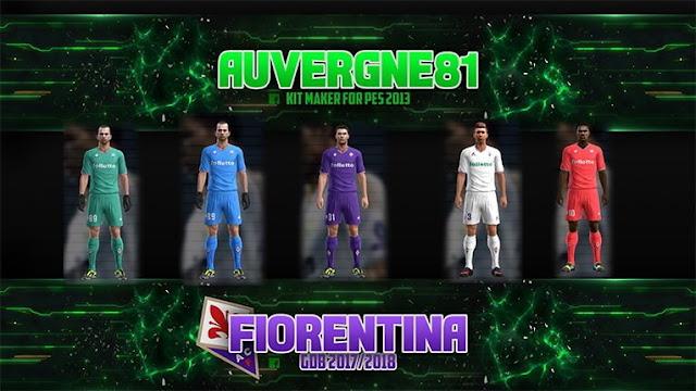 Fiorentina Kit 2017-18 PES 2013