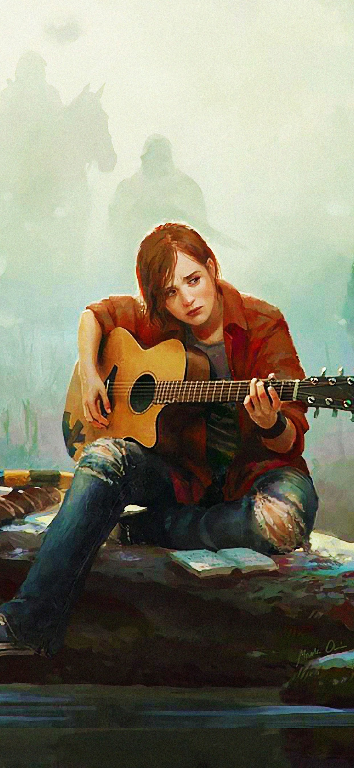 The Last Of Us Part 2 Ellie Playing Guitar 4k Wallpaper 8