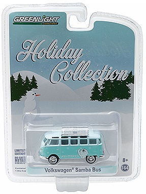 Volkswagen Samba Bus Diecast Holiday Collection Series