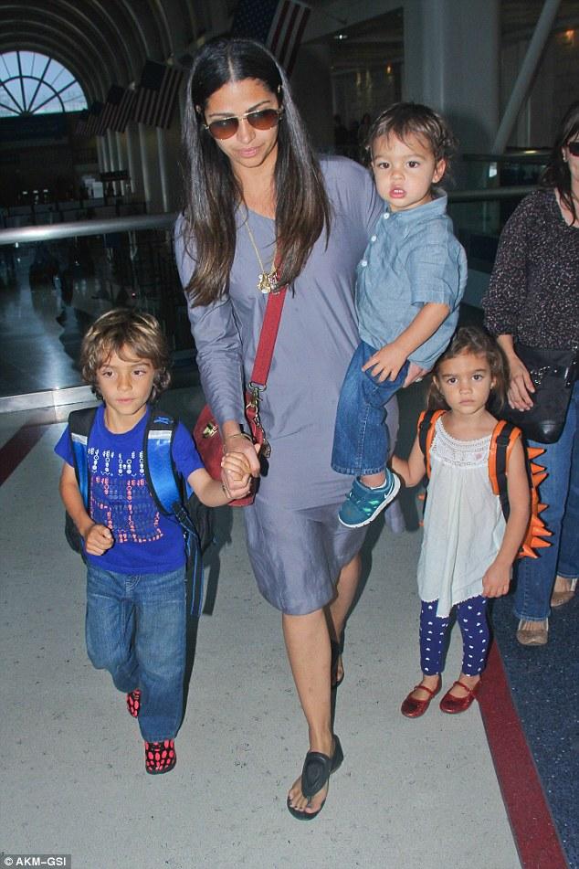 Camila Alves takes son Livingston McConaughey for a day out at the  - livingstone alves mcconaughey