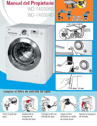 Error ie en lavadora lg qu cosa es y c mo repararlo - Lavadora sin agua ...