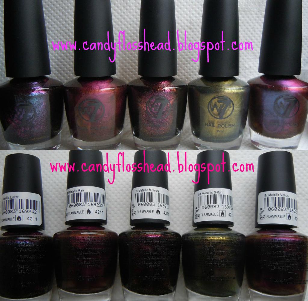 Metallic Nail Varnish Sets: Beauty, Parenting & Lifestyle Blog: Nail Polish