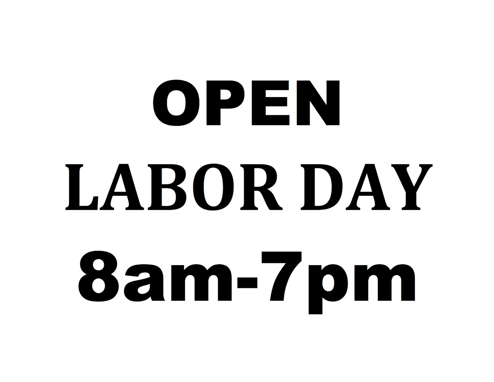 Forex labor day hours