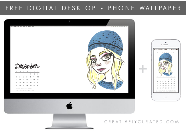 Creatively Curated / Sandi Devenny #art #sandidoodles #freedownload creativelycurated.com