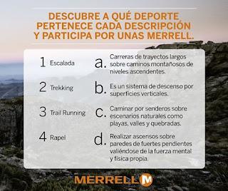 concursos y sorteos perupromo - merrell