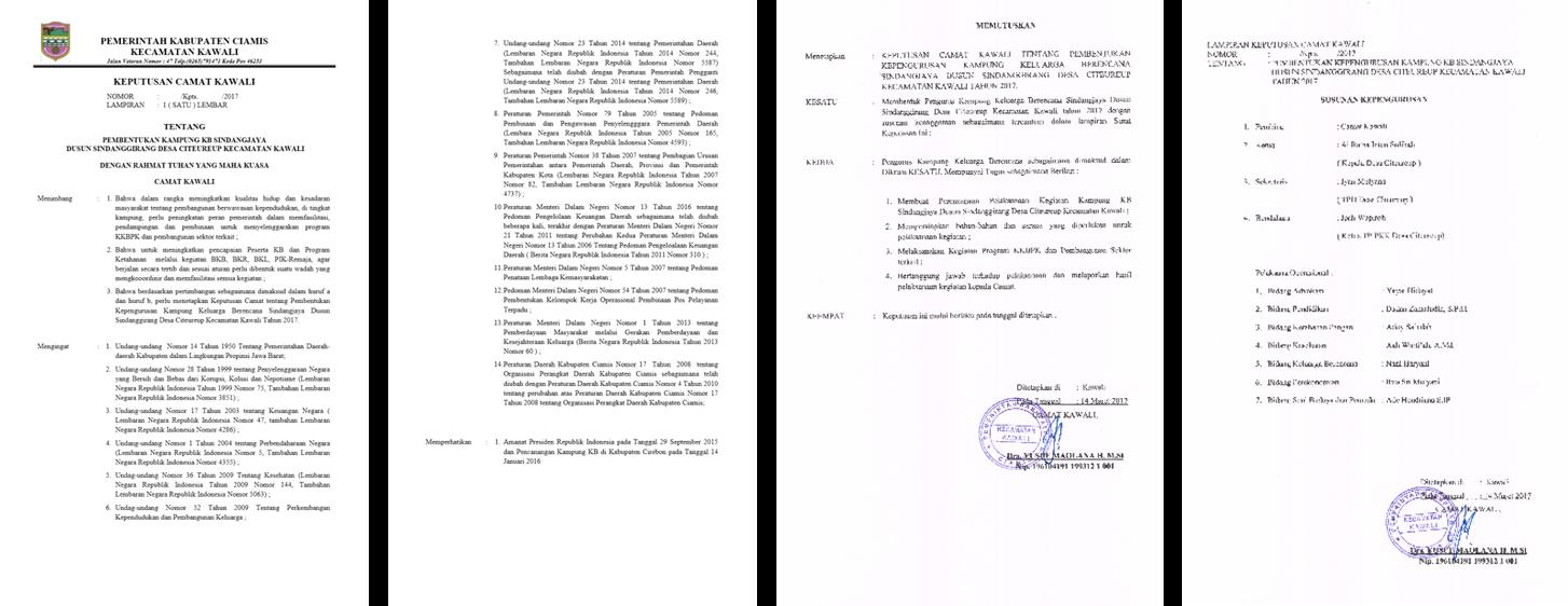 Contoh Format Sk Paguyuban - Guru Paud