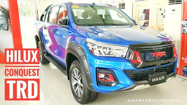 PHOTOS: Toyota Hilux CONQUEST w/ TRD Accessories (Philippines)