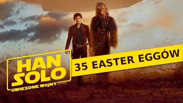 35 easter eggów w filmie Han Solo: Gwiezdne wojny - historie