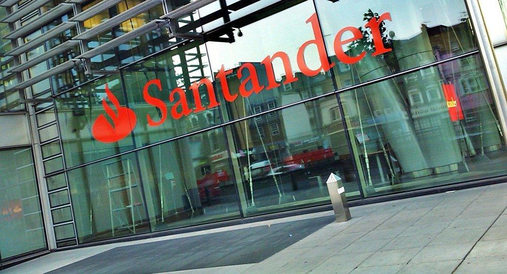 Conspiraciones y noticias actuales banco santander for Banco santander oficinas barcelona ciudad