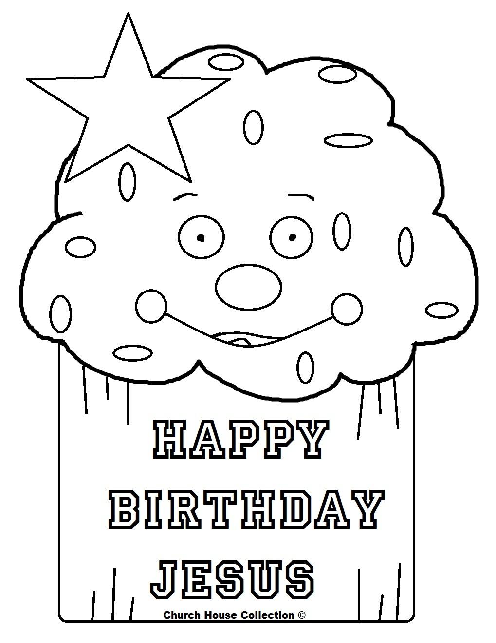 Church House Collection Blog: Happy Birthday Jesus Cupcake