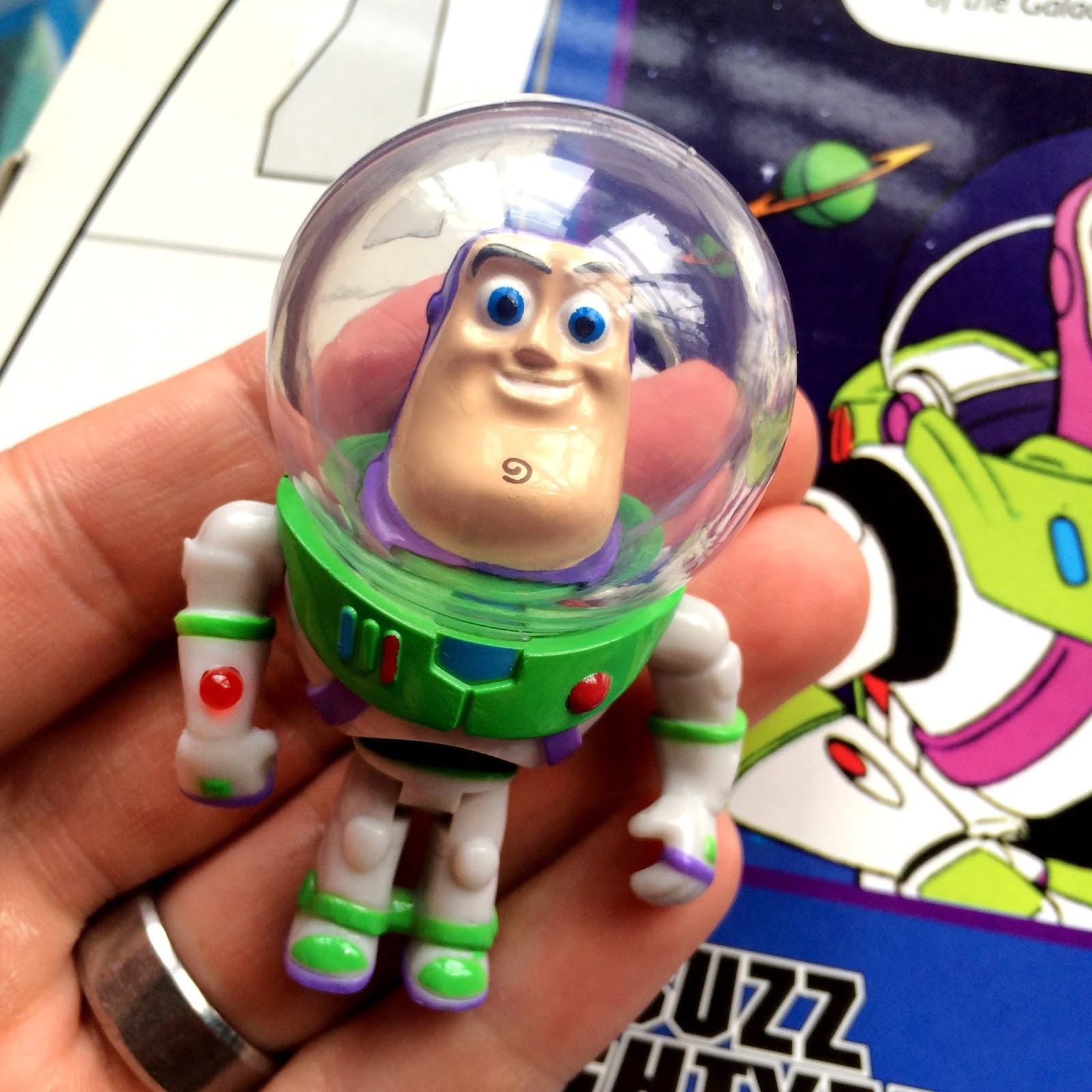 buzz lightyear disney parks light up keychain