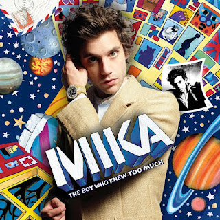 MIKA The boy who knew too much album cover