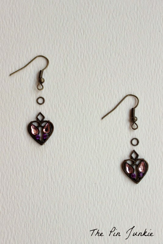 How to Make Heart Earrings