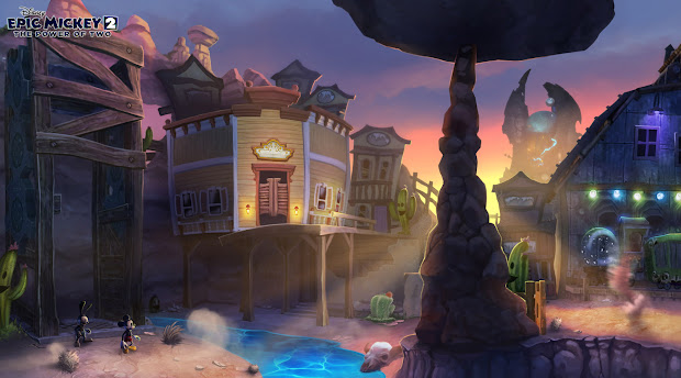 Kevin T. Chin' Art Journal Epic Mickey 2 Released