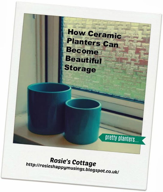How ceramic planters can become useful storage...