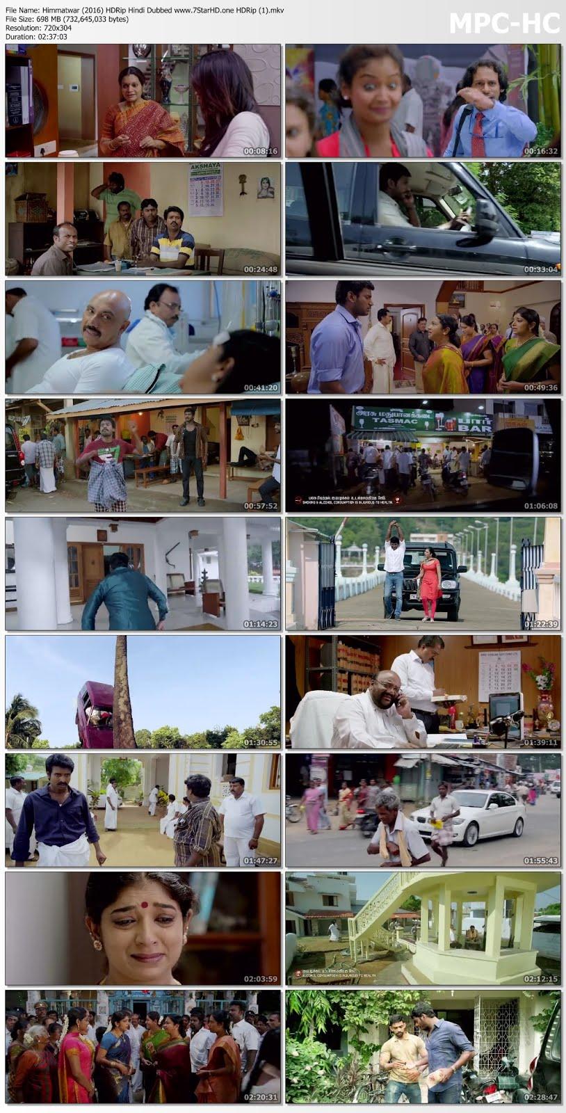 Himmatwar (2016) 720p HDRip 700MB Hindi Dubbed Movie 7StarHD