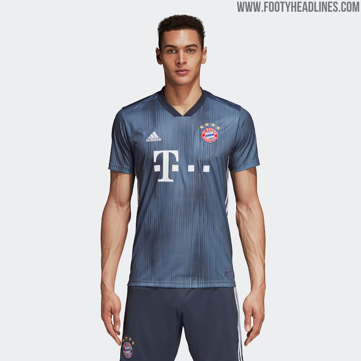 wholesale dealer 90eb5 8c25f Bayern München 18-19 Third Kit Released - Footy Headlines