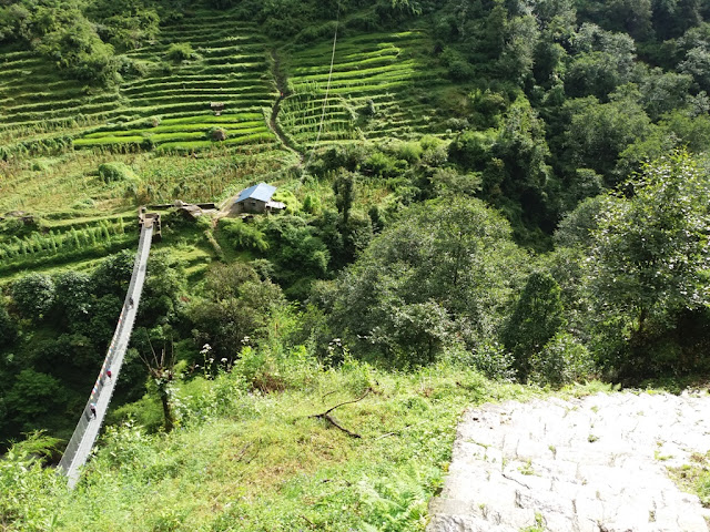 Annapurna Base Camp Trekking, Chhomrong River