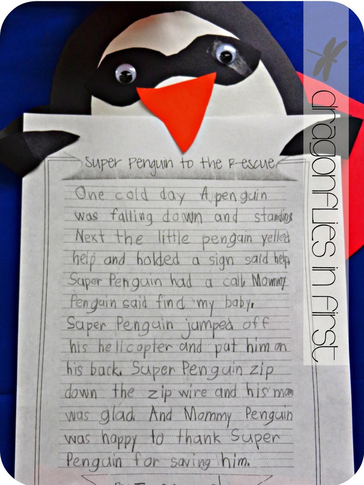 First Grade Narrative Writing Samples
