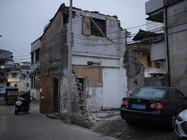 dilapidated house in Zhongshan