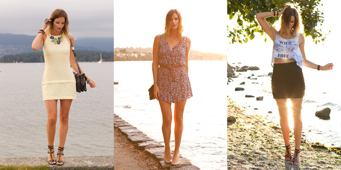 Vancouver fashion blogger, Alison Hutchinson, recaps her looks for August, 2013