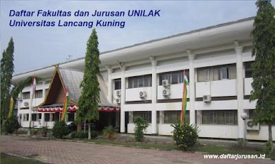Daftar Fakultas dan Jurusan UNILAK Universitas Lancang Kuning Terbaru