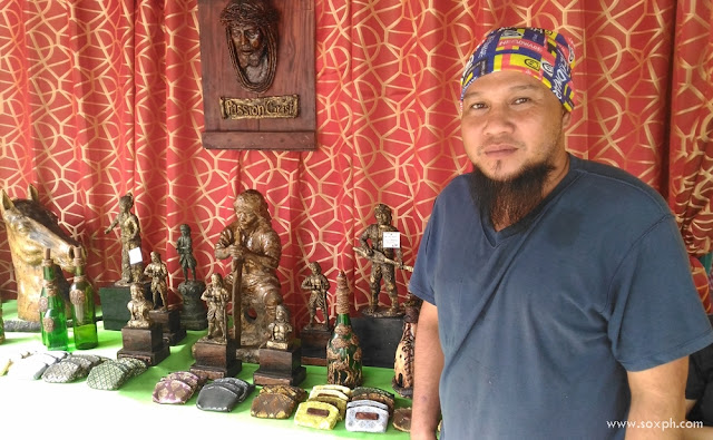 Kalbs Balagon, the mud craft artist from Esperanza, Sultan Kudarat