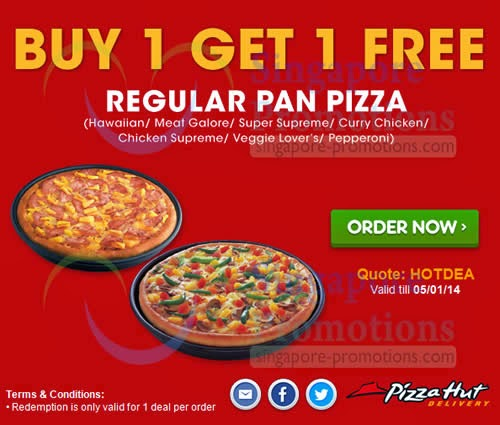 Pizza Hut deals for tasty pizzas