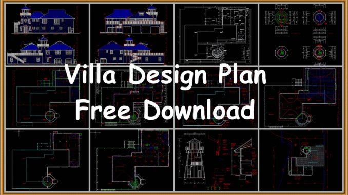Villa design Modern house plans - FantasticEng on