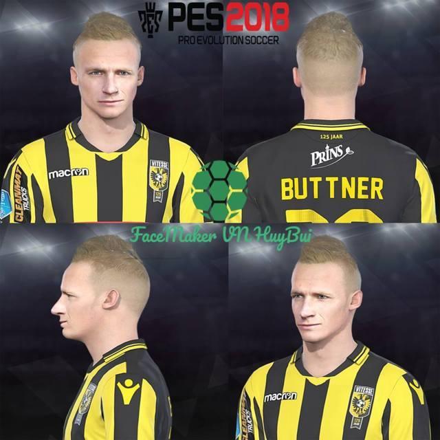 Alexander Buttner Face PES 2018