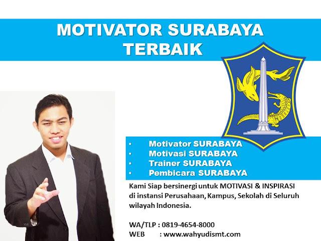 Motivator Terkenal Di Surabaya - Wahyudi SMT