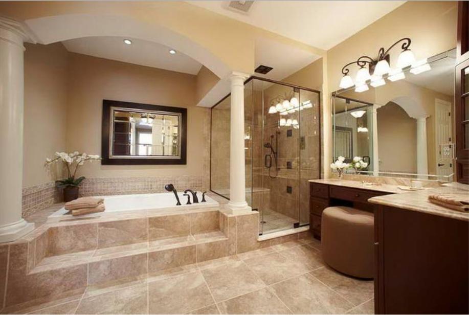 20 Luxury Small Bathroom Design Ideas 2017 2018: Nowoczesne łazienki : Łazienka W Stylu Antycznym
