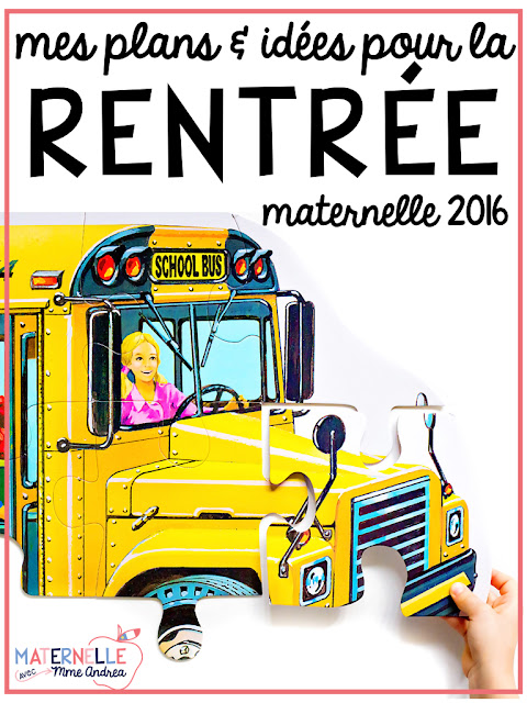Tips and tricks to planning the first day of maternelle, as well as a peek at my actual first day plans!
