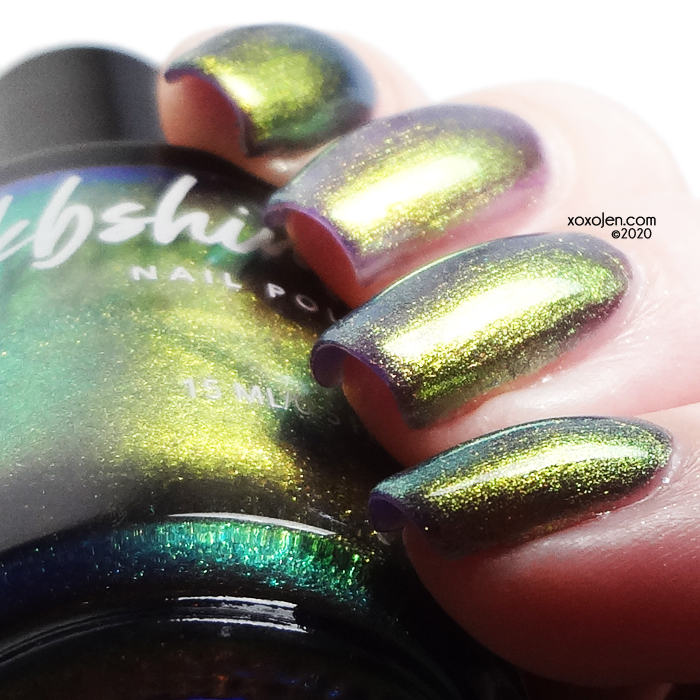 xoxoJen's swatch of KBShimmer Mermaid In The Shade