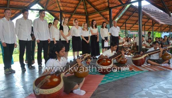 Kerala fascinates German students hosted by Trins