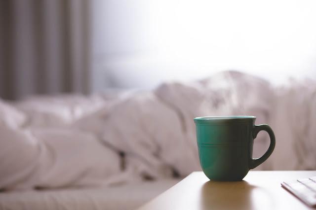 Der erste Kaffee in meiner Morgenroutine