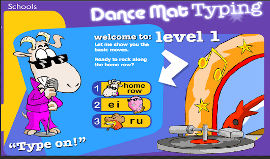 Dance Mat Typing — BBC Typing Guide, Typing Test and Games