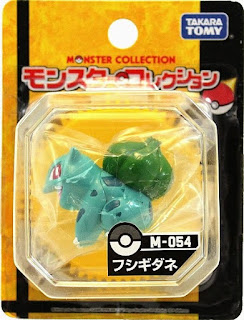 Bulbasaur figure Takara Tomy Monster Collection M series