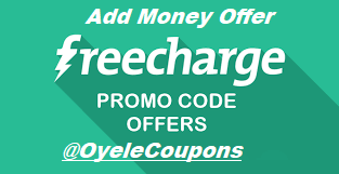 freecharge coupon code for add money in wallet