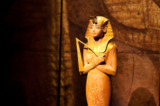 Image: King Tut Exhibit at Seattle's Pacific Science Center, by Dave Nakayama on Flickr