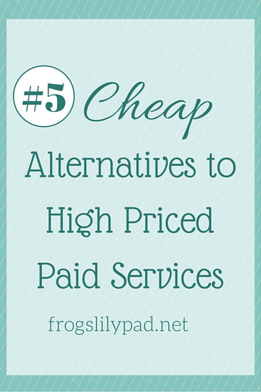 Five Cheap Alternatives to High Priced Paid Services: TV, Movies, Haircuts, Phone, and Magazines becoming more frugal one step at a time with extra money in your pocket. frogslilypad.net
