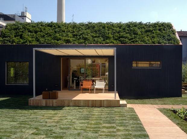 Ecoabitazione risparmio energetico dell 39 abitare for Piccole case moderne