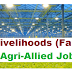 Livelihoods (Farm) Agri-Allied Job-Oct 2017
